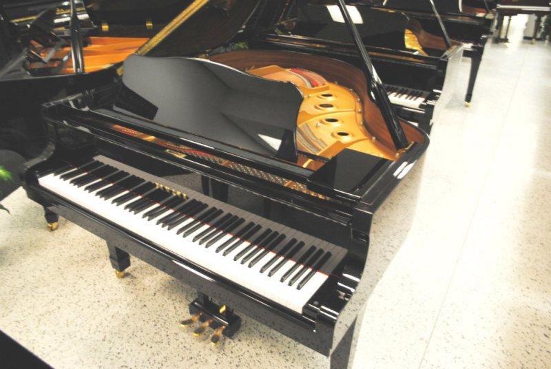 Yamaha grand piano c1 5 39 3 ebony polish ebay for Yamaha c3 piano price