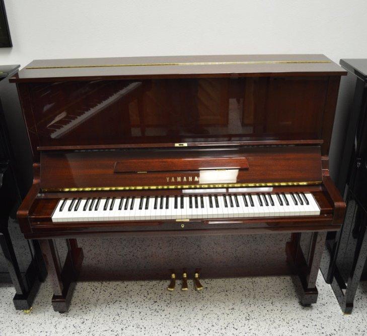 Yamaha upright piano u3 52 034 mahogany polish ebay for Used yamaha u3 upright piano
