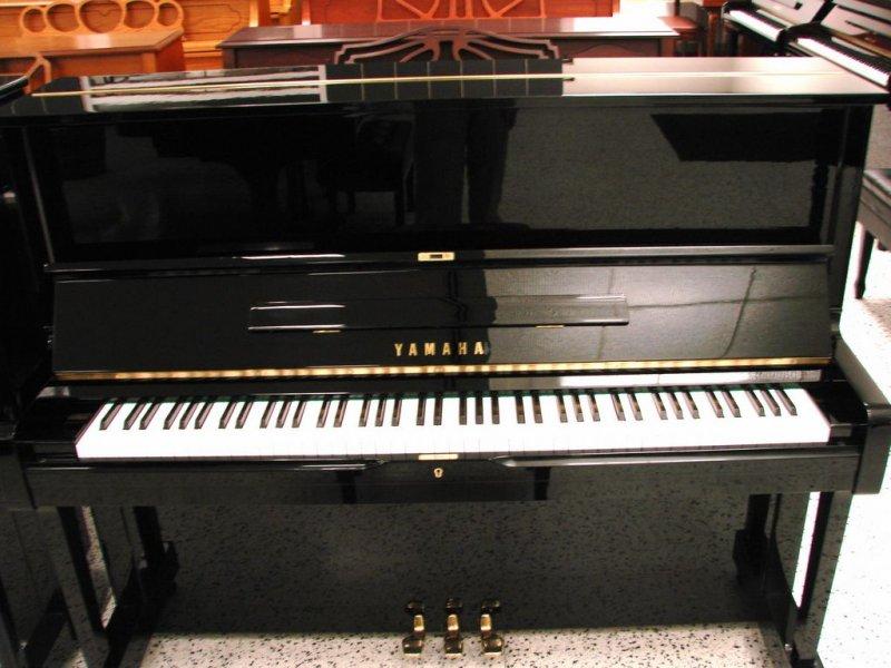 Yamaha upright piano 48 u 1 professional upright pre for Yamaha upright piano used