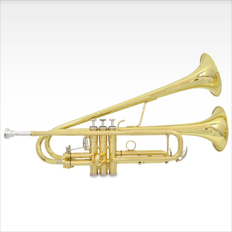 schiller bandleader double bell trumpet. Black Bedroom Furniture Sets. Home Design Ideas