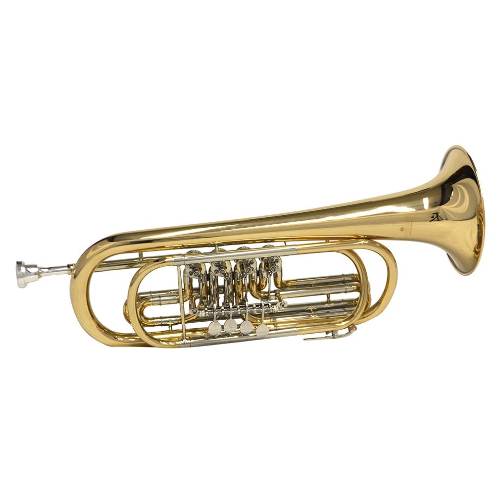 Schiller Elite Rotary Bass Trumpet Key of C | eBay