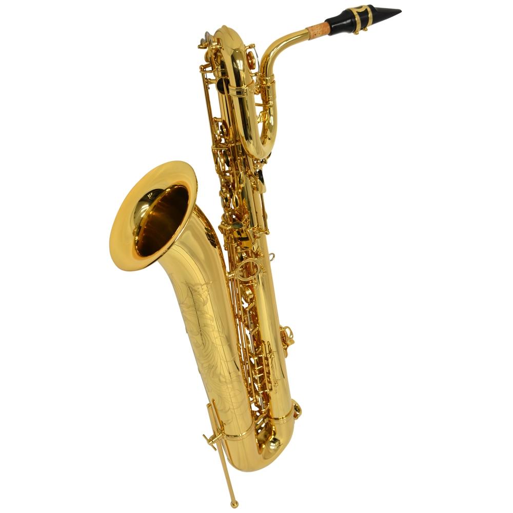 Schiller La Premiere Baritone Saxophone Gold Engrave w/LOW ...