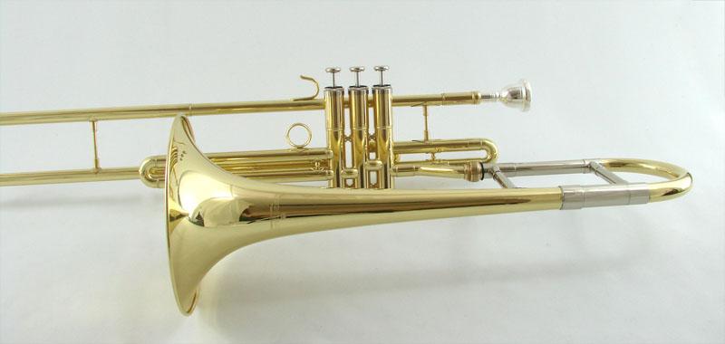 schiller american heritage eb alto piston trombone ebay. Black Bedroom Furniture Sets. Home Design Ideas