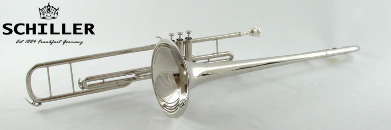 schiller american heritage piston valve c trombone nickel. Black Bedroom Furniture Sets. Home Design Ideas