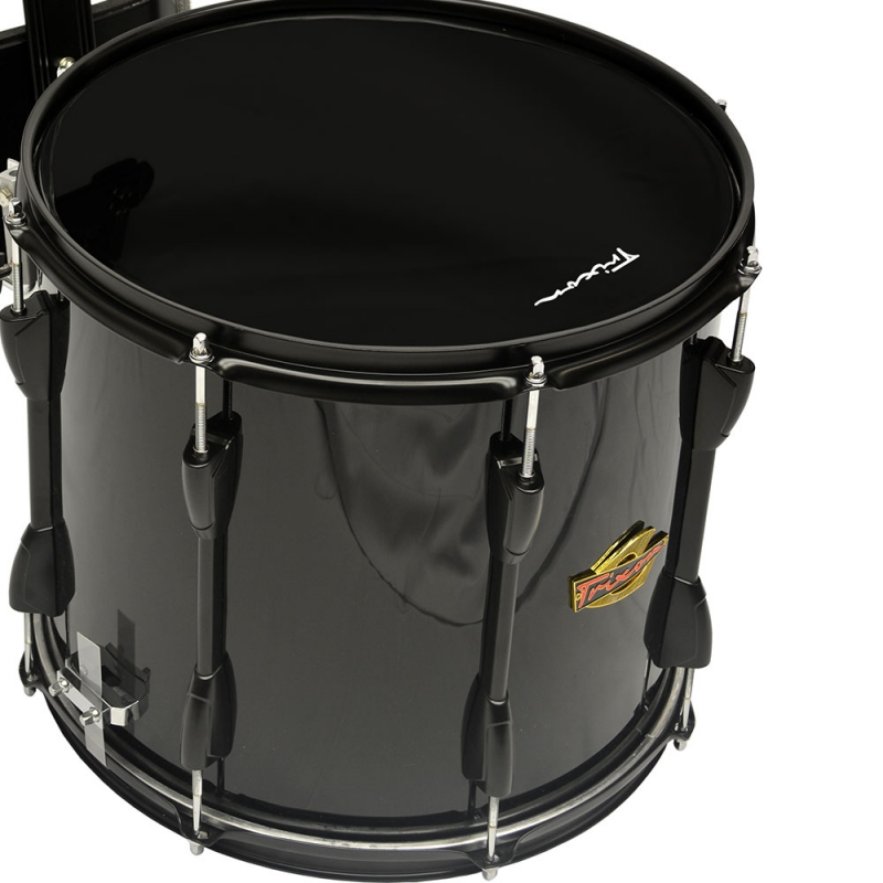 Trixon Field Series III Marching Snare Drum 14 by 12 Black ...