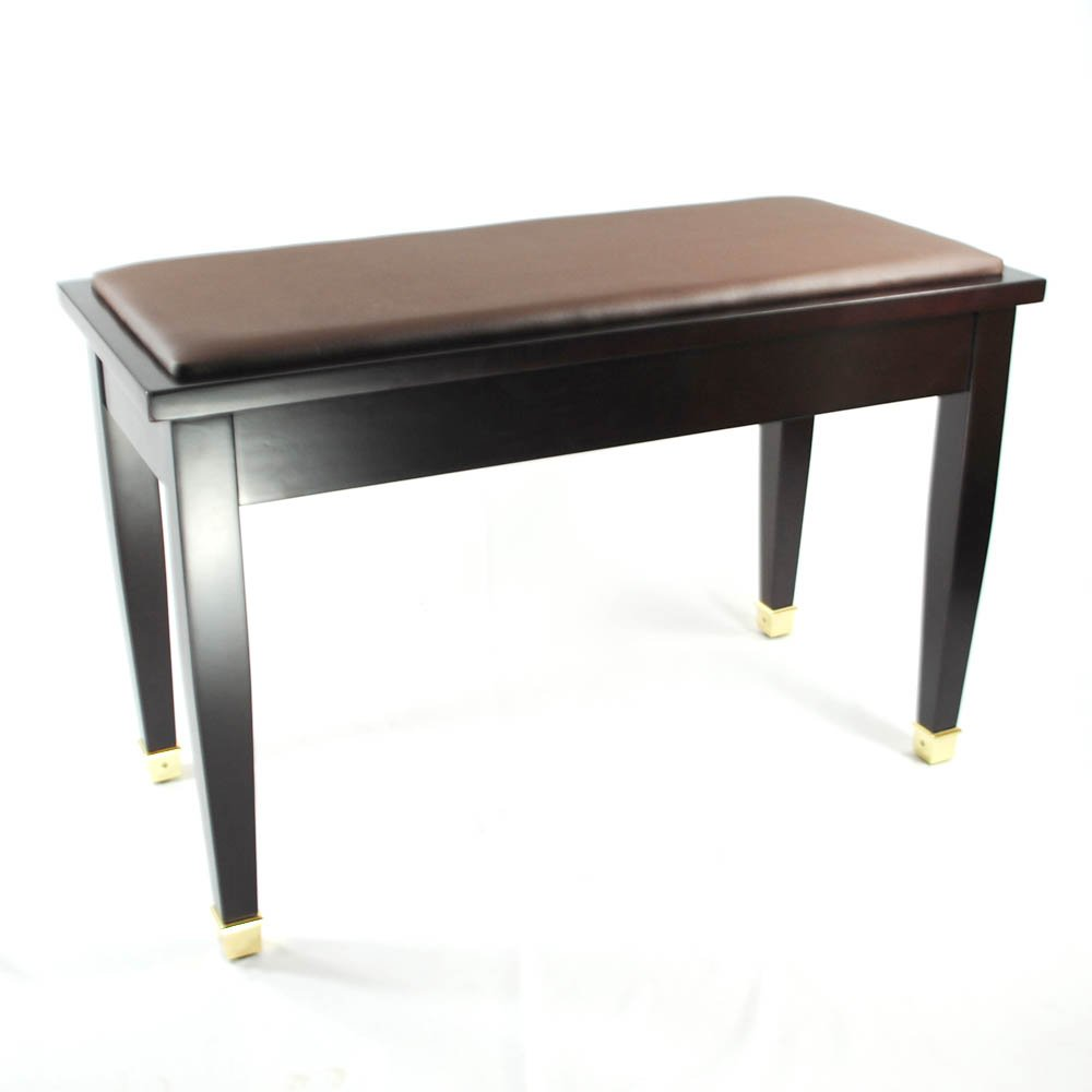 Piano Bench 28 Images Mahogany Satin Upright Duet Smooth Padded Top W Music Black Leather