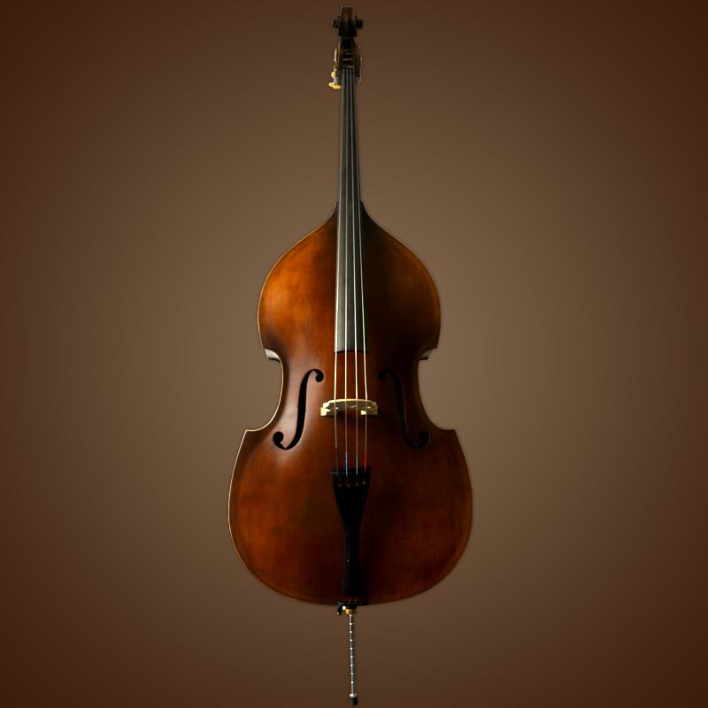 vienna strings frankfurt 3 4 upright bass ebay. Black Bedroom Furniture Sets. Home Design Ideas