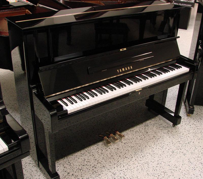 Yamaha yus upright piano 48 pre owned used upright for Yamaha piano upright