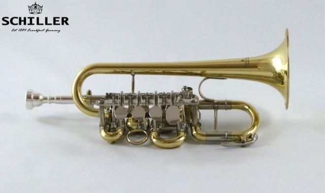 Schiller Elite Rotary Valve Piccolo Trumpet | eBay