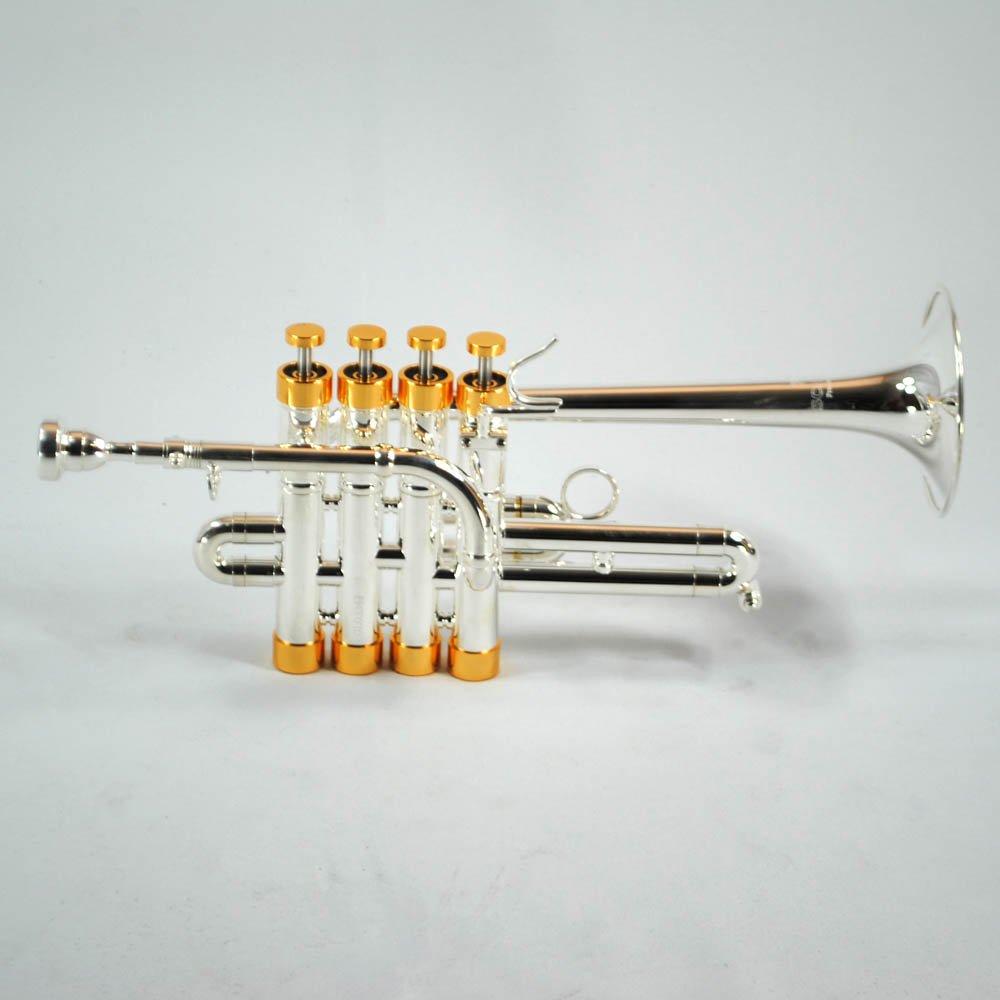 Schiller Centertone Piccolo Trumpet Silver and Gold | eBay